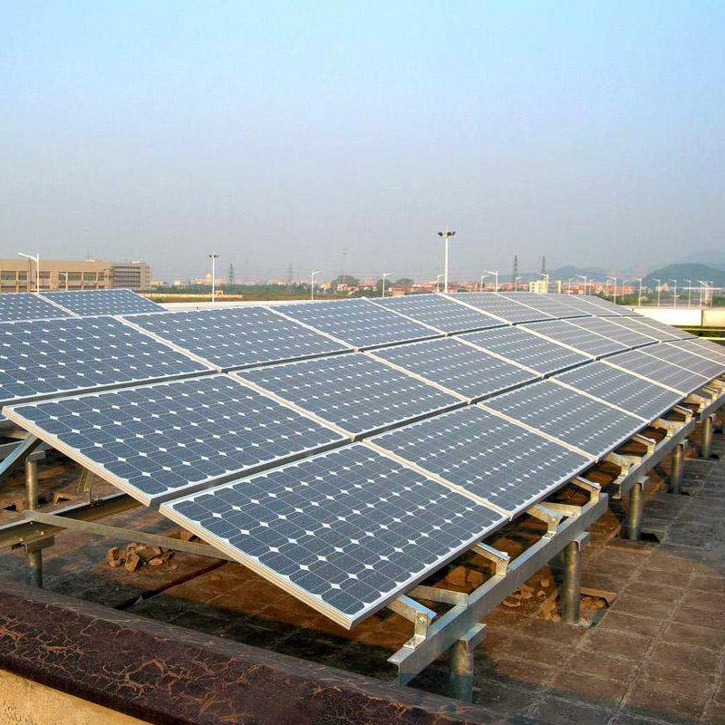 阳光创盈 20KW单晶太阳能光伏发电并网系统