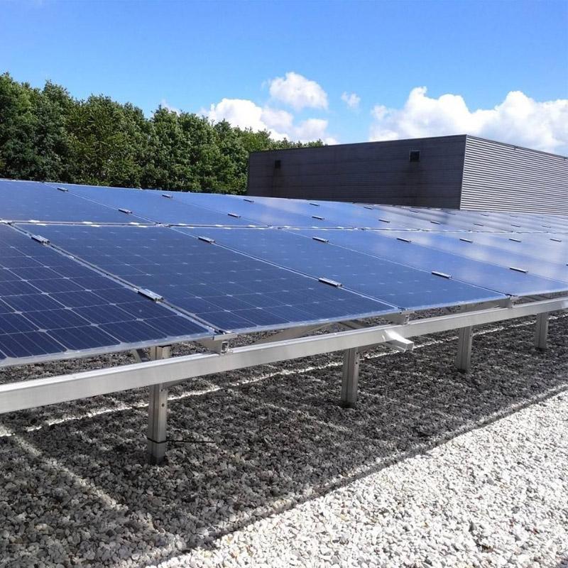 阳光创盈 10KW双玻太阳能光伏发电并网系统